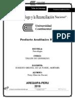 PA1-Taller de Liderazgo- Yoisy Alarcón