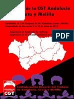 Estatutos CGT Andalucia Ceuta y Melilla IX Congreso 2018