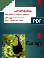 Ecology 1st Class