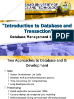 Intro to Database and Transaction (Part 2)