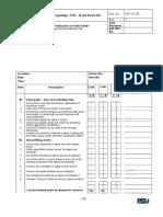 Checklist III for FSG 38