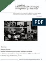 2 Breve Historia de La Alfabetización en Guatemala y Las Respectivas Políticas Lingüísticas Que La Animaron