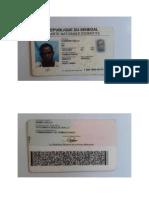 Carte Nationale d'Identité Senegal