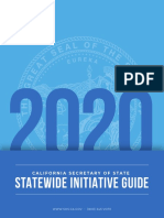 California Secretary of State Statewide Initiative Guide