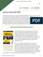 NAPLEX Practice Test Questions (Prep for the NAPLEX Test)