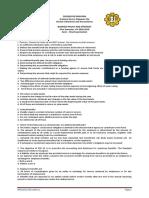 BPS SF Exam Set A