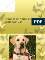 Pictures of words that start with d.pptx