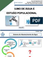 Aula 02 - Consumo de Água e Crescimento Populacional