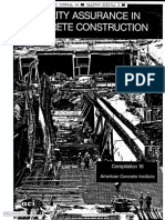 quality assurance in concrete construction