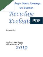 Reciclaje Plasticos SDG