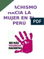 El Machismo