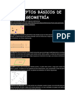 conceptos de geometría