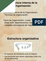 La Organización Interna de La Empresa Diaposit
