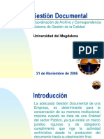 Gestion Documental ARCHIVO
