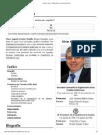 César Gaviria - Wikipedia, La Enciclopedia Libre