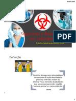 Segurança e Boas Práticas Em Laboratório