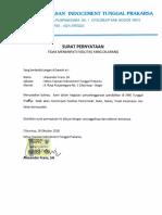 19. Surat Pernyataan Tidak Akansedang Menempati Atau Menggunakan Fasilitas