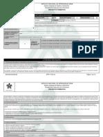Reporte Proyecto Formativo - 1004086 - Diseno y Fabricacion de Elementos mecánicos
