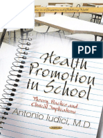 Health Promotion in School Theory Practice and Clinical Implications (2)