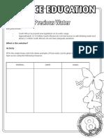 Grades 8-12 Worksheets
