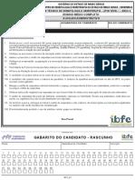 Ibfc 2013 Hemominas Auxiliar Administrativo Prova