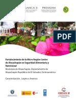 Caracterizacion, Logros y Avances Del Municipio de Ahuachapan, El Salvador