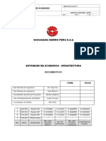 especificaciones tecnicas de arquitectura