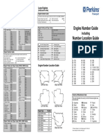 Engine Number Guide