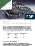 Aleaciones de Magnesio