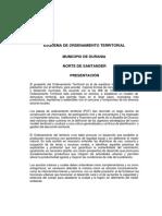 Eot - Durania n. Santander - Resumen