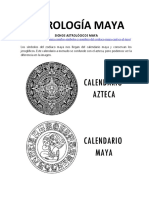 Astrología Maya