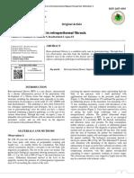 1. Digestive Involvement in Retroperitoneal Fibrosis