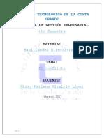 Habilidades Directivas II....