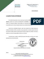 Constancia de Pertenencia Nuevo Ingreso Humberto Jiménez