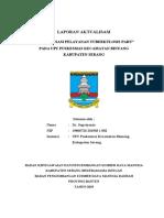 Laporan Aktualisasi Dr. Supriyanto
