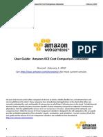 User Guide Amazon EC2 Cost Comparison Calculator