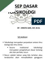 1. Konsep Dasar Toksikologi