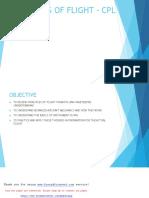 Principles of Flight - Cpl