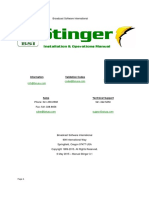 Stinger 3.1.0 Manual