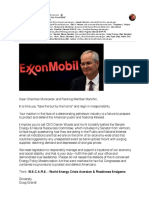 "Reign in and quash the ""Fantasy from ExxonMobil"""