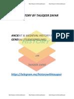 history by tausif zakr