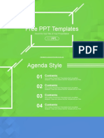 Abstract Squares PowerPoint Templates