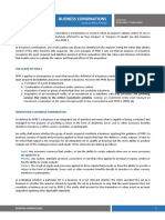 Summary of IFRS 3
