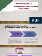 Interpretacion de Los Estados Financieros