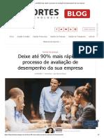 Artigo - Deixe 90% Mais Rápido o Processo de Avaliação de Desempenho Da Sua Empresa