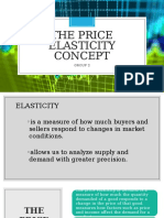 The Price Elasticity Concept Report Final 2