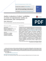 2. 2015 Maksymov - Auditor Evaluation of Others' Credibility - A Review of Experimental Studies on Determinants and Consequences