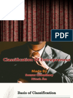 Entrepreneur Classification