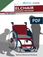 Wheelchair Service Training Pakage(Who)