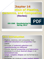 EIN 3390 Chap 14 Fabrication Plastics Review Spring_2012
